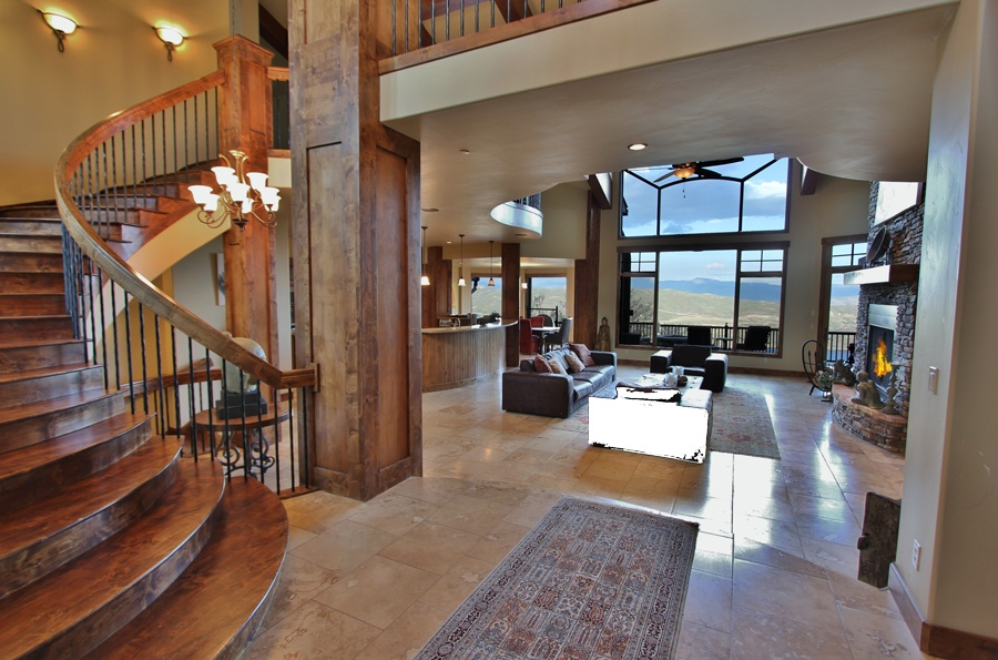This ski-in/out Deer Crest luxury home exemplifies the prestige of Deer Valley living that all generations will enjoy.