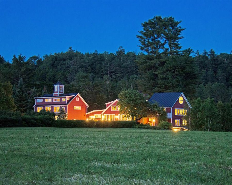 A classic Vermont country property of 190 private acres in the center of Stowe with easy access to the ski trails and the village.
