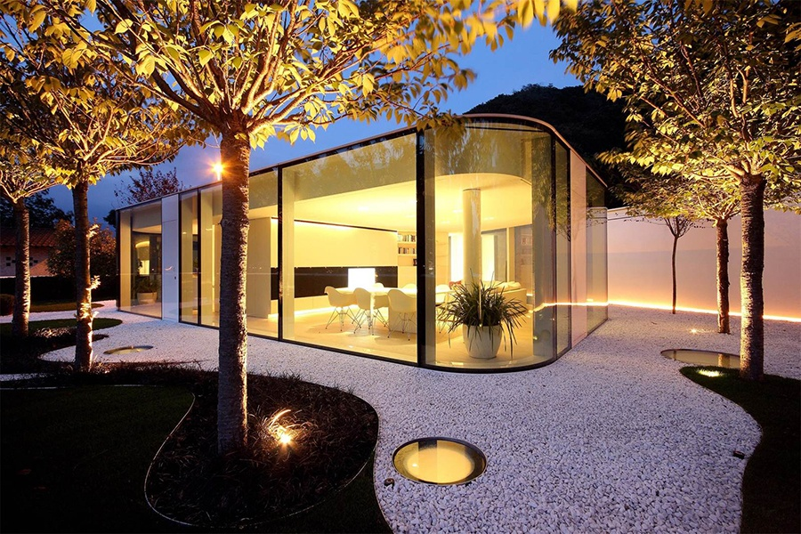 Magical Glass-Walled Homes
