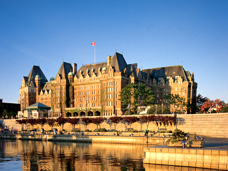 Afternoon tea at the Fairmont Empress Hotel on Victoria's Inner Harbour is a tradition that stretches back to the early 1900s and is a must for any visitor to the grand hotel.