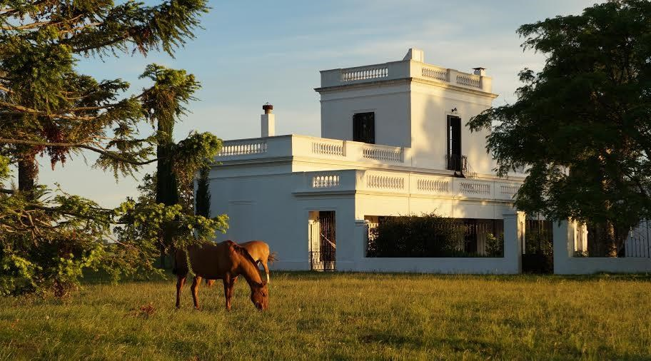 Dating to the 1880s, this historic residence spans 317 hectares and is ideal for equestrian enthusiasts.
