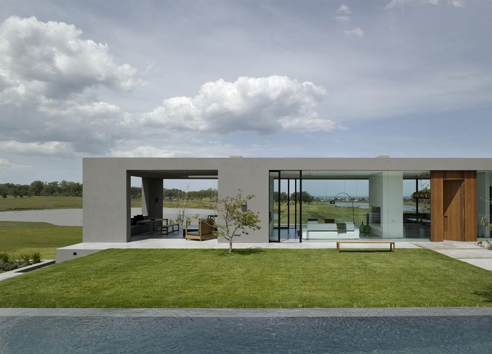 This eight-acre estate in the private community of Villalagos on Uruguay's Gold Coast was designed for the contemporary ranch lifestyle.