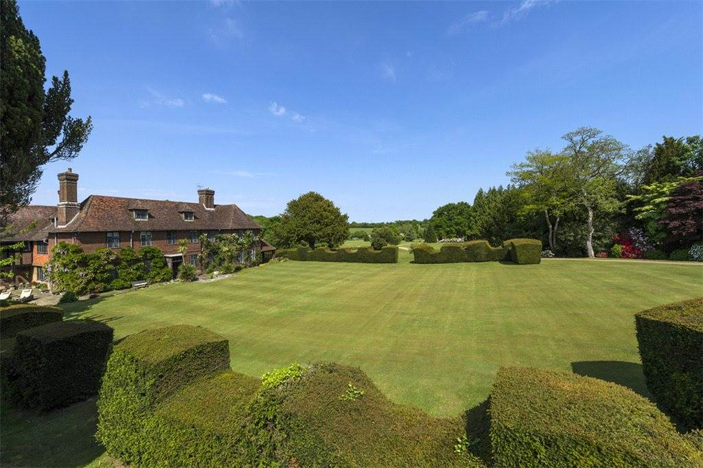 Nestled in 149 acres of parkland and lakeland setting, this  immaculately presented estate includes two cottages, equestrian facilities and an excellent range of outbuildings.