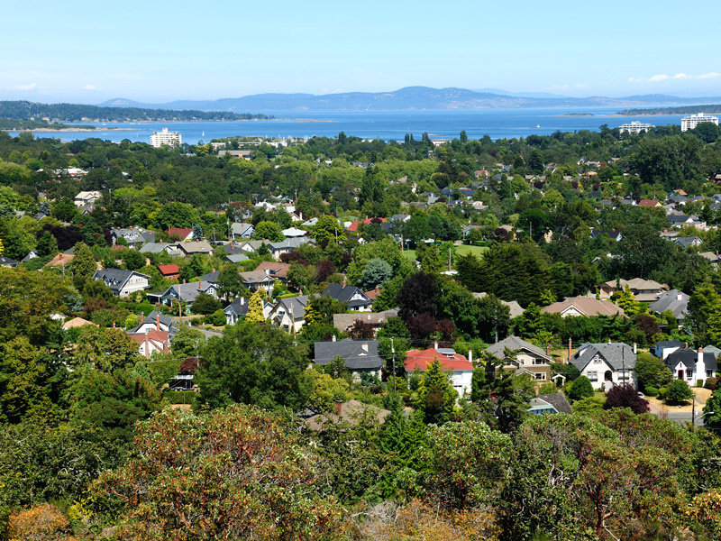 """""""The Oak Bay area has the highest number of expensive homes in Victoria,"""" says Newport Realty's Jack Petrie. Image: Shutterstock"""